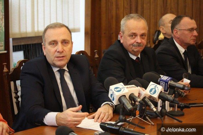 Jelenia Góra: Szef PO odwiedził prezydenta Jeleniej Góry