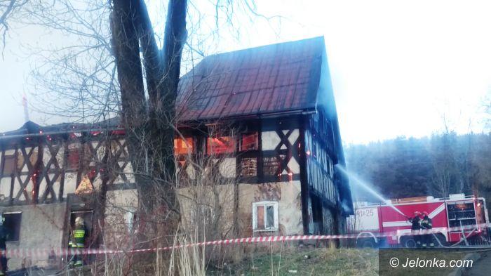 Kowary: Pożar skansenu w Kowarach (aktualizacja)