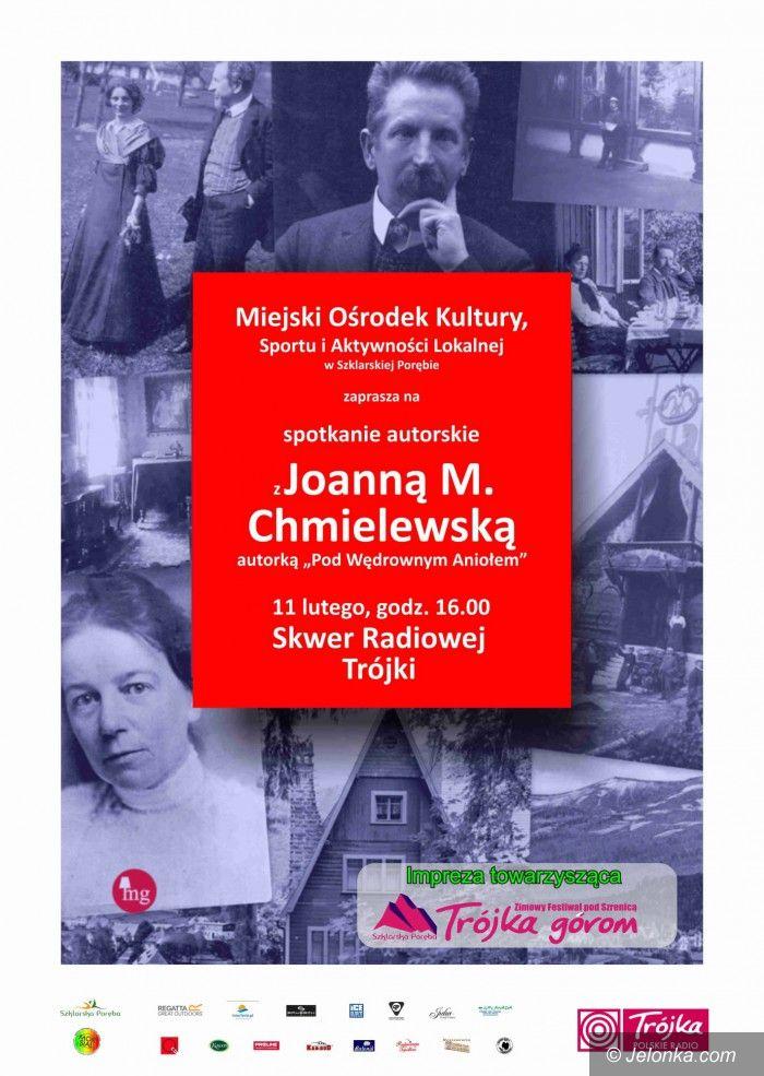 Szklarska Poręba: Przyjdź na spotkanie z Joanną M. Chmielewską