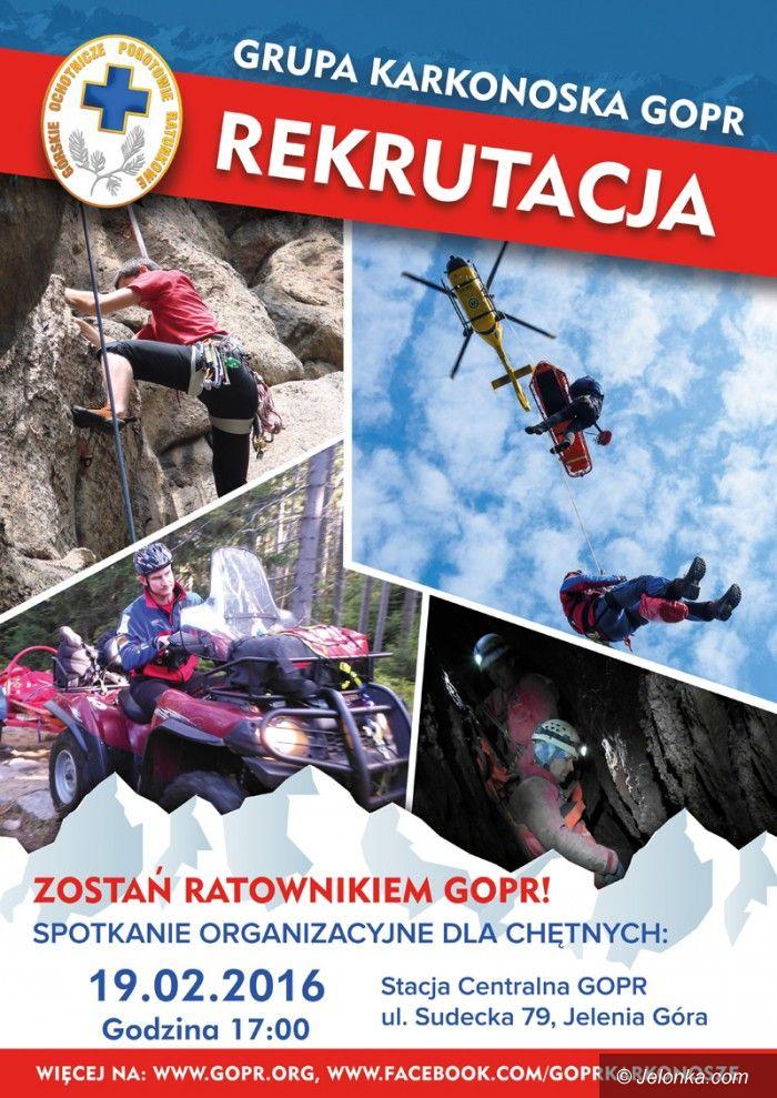 Jelenia Góra: Zostań ratownikiem górskim
