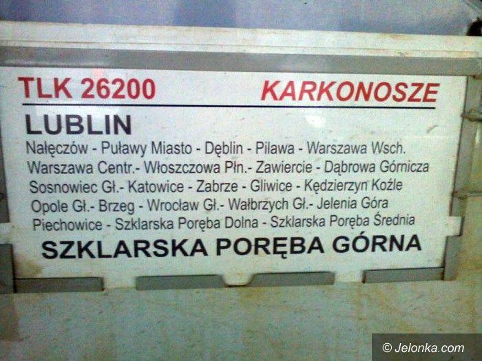 Region: Trwa zbieranie podpisów w sprawie pociągu do Lublina