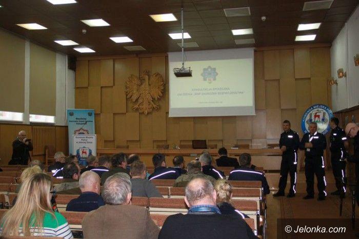 Jelenia Góra: Debata o mapach bezpieczeństwa