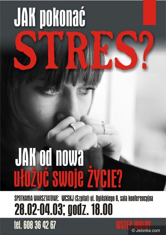 Jelenia Góra: Jak pokonać stres? O tym będzie bezpłatny kurs