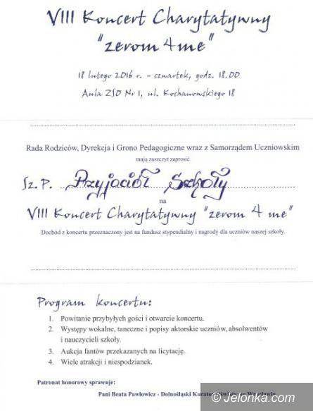 """Jelenia Góra: Charytatywny koncert w """"Żeromie"""" już jutro"""
