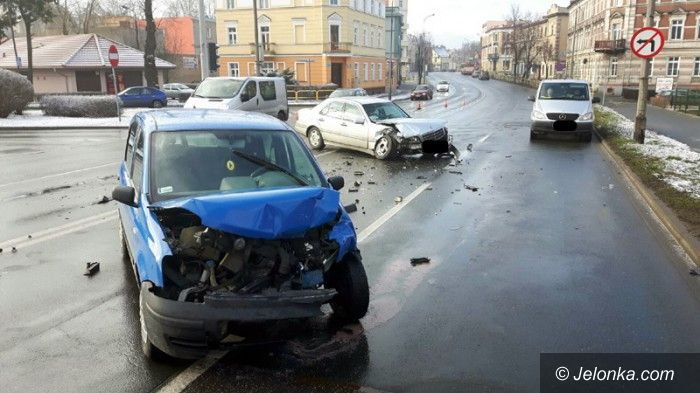 Jelenia Góra: Wypadek na ul. Wolności