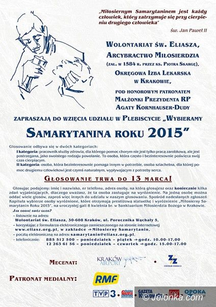 Polska: Zgłoś naszego samarytanina