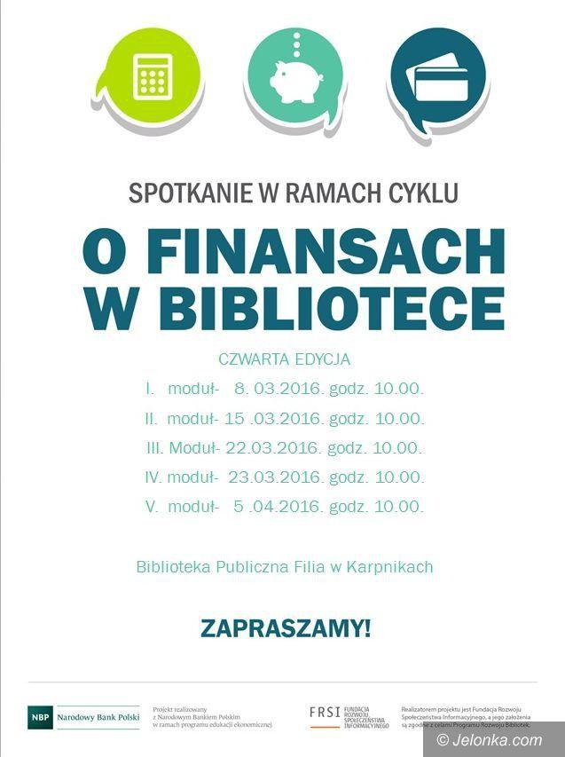 Region: O finansach w wiejskich bibliotekach