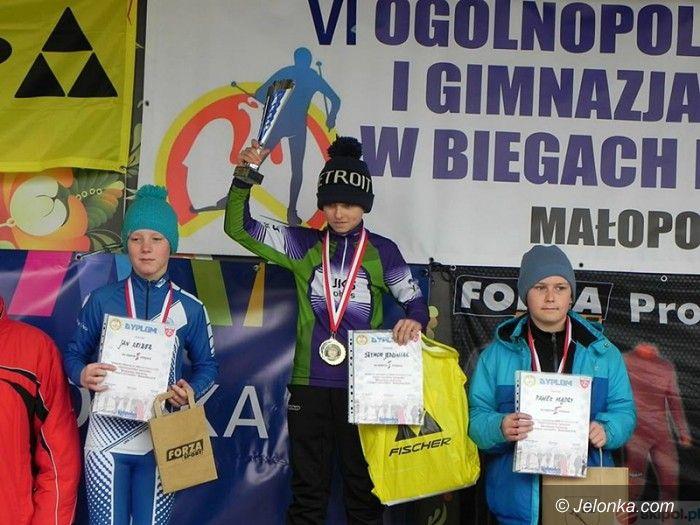 Białka Tatrzańska: Młodzici biegacze nie zawiedli