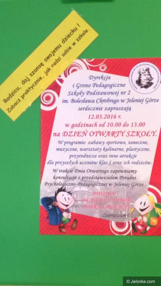 Jelenia Góra: Dzień Otwartych Drzwi w Szkole Podstawowej nr 2