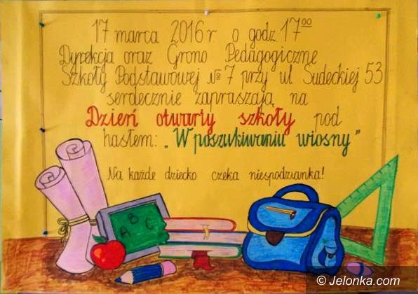 Jelenia Góra: Szkoła Podstawowa nr 7 zaprasza na Dzień Otwarty