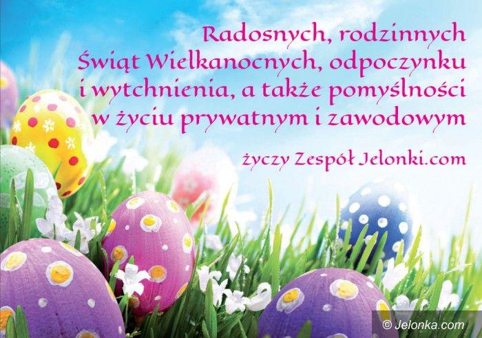 Jelenia Góra: Radosnych, rodzinnych Świąt Wielkanocnych