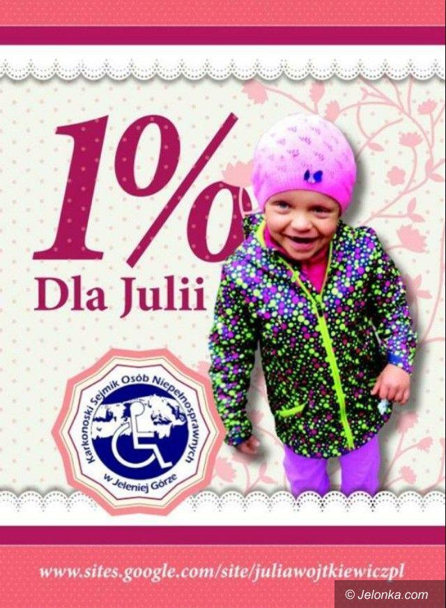 Region: Podaruj 1 procent dla chorej Julii