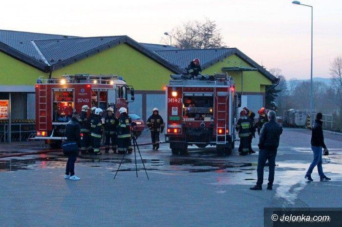 Region: Palił się market w Podgórzynie