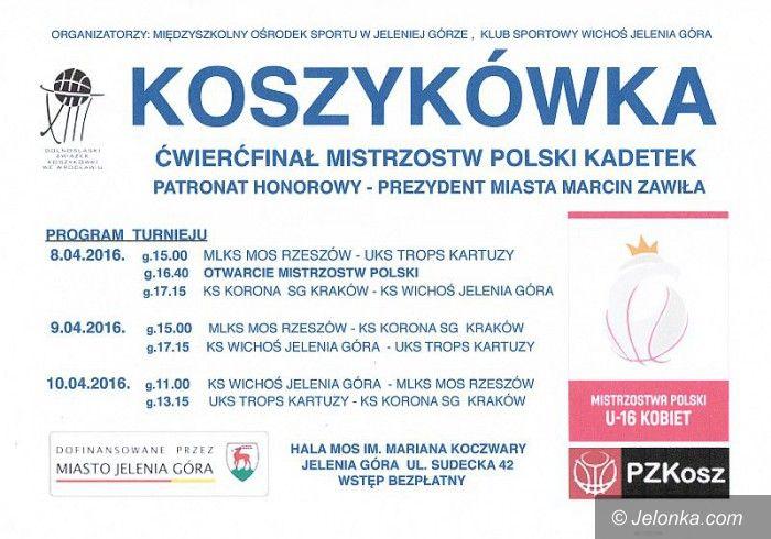 Jelenia Góra: Kadetki Wichosia powalczą o półfinał MP