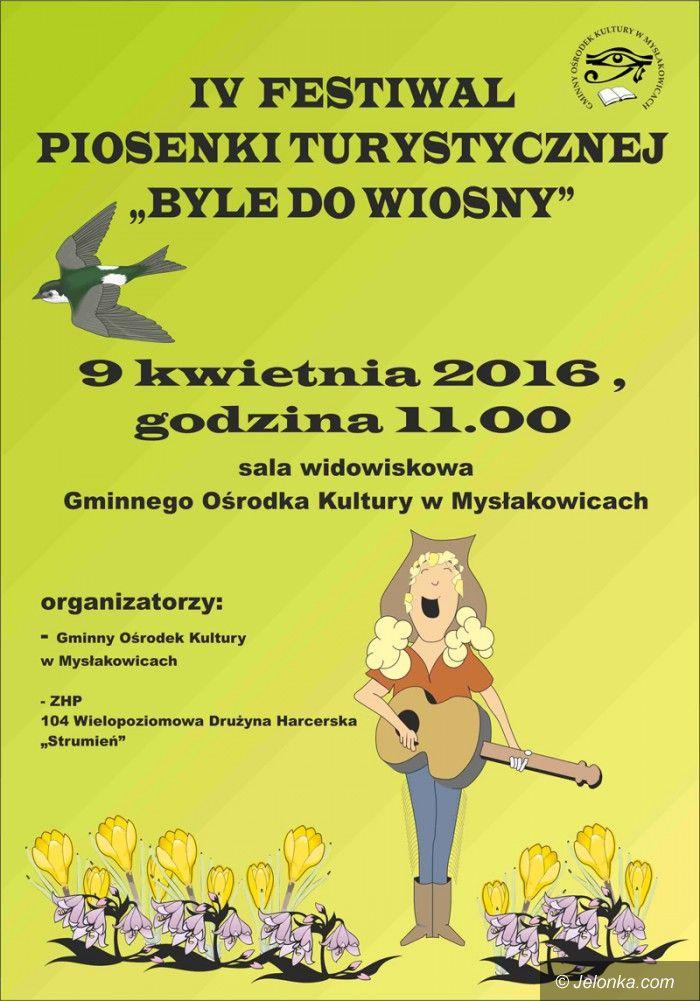 """Mysłakowice: Festiwal piosenki """"Byle do wiosny"""""""