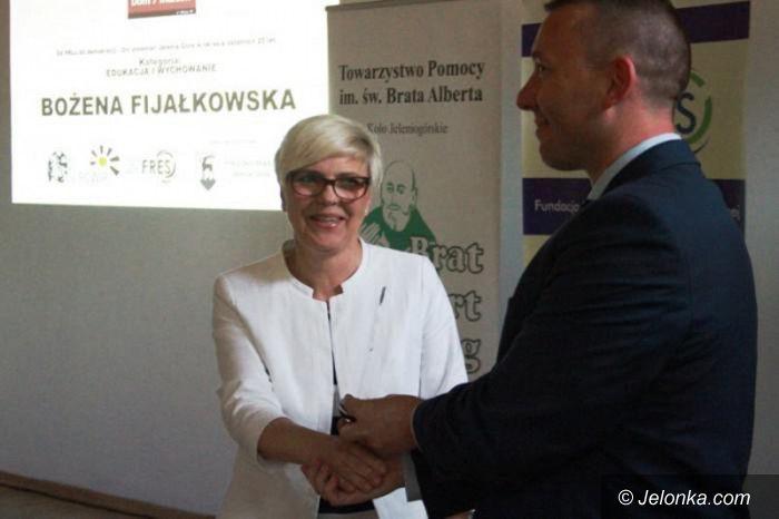 Jelenia Góra: Bożena Fijałkowska: skrajna altruistka