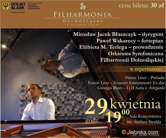 Jelenia Góra: Liszt, Bizet, mistrz batuty i młody wirtuoz fortepianu