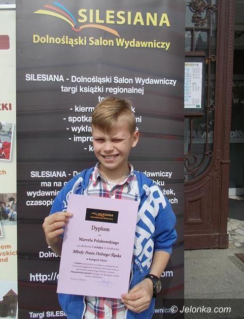 """Jelenia Góra: Uczeń SP7 """"Młodym Poetą Dolnego Śląska"""""""