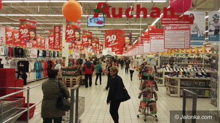 Jelenia Góra: Hipermarket Auchan w Galerii Sudeckiej otwarty