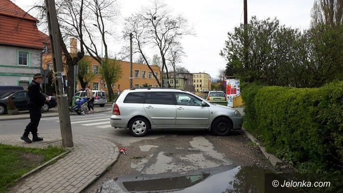 Jelenia Góra: Zaparkował bez wyobraźni