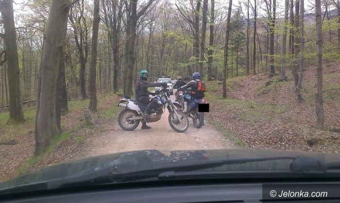Region: Crossowcy zatrzymani w lasach