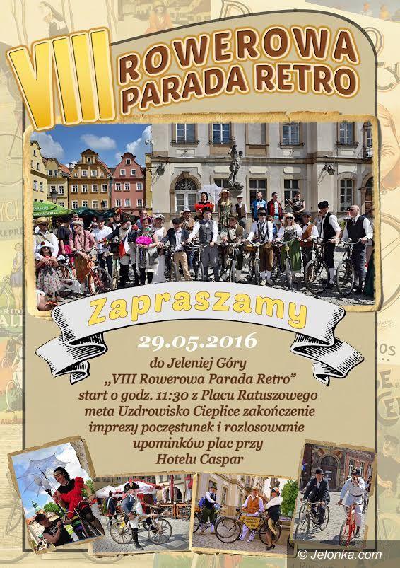 Jelenia Góra: Rowerowa parada retro z nowymi atrakcjami