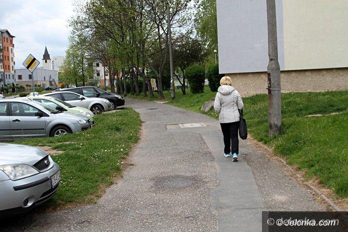 Jelenia Góra: Chodnik przy ul. Elsnera do remontu