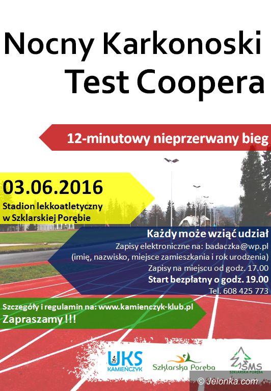 Jelenia Góra: W piątek Nocny Karkonoski Test Coopera