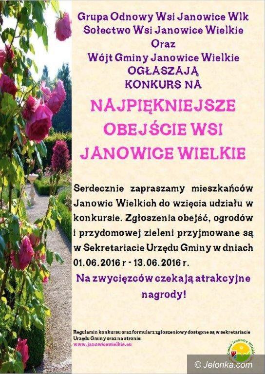 Janowice Wielkie: Kto ma najpiękniejszy ogród w Janowicach Wielkich?