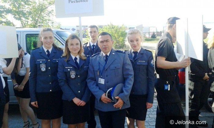 Piechowice: Uczniowie z Piechowic na Turnieju Klas Policyjnych