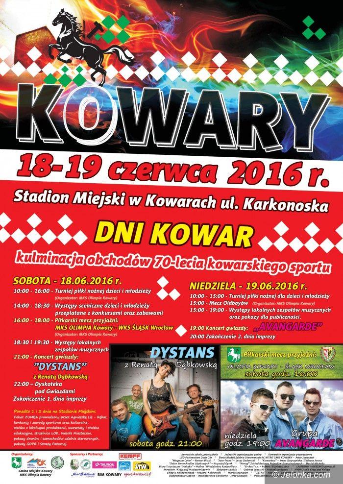 Kowary: Dni Kowar: koncerty i wielki mecz