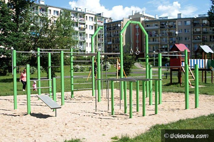 Jelenia Góra: Huśtawka dla dzieci na wózkach prawie gotowa