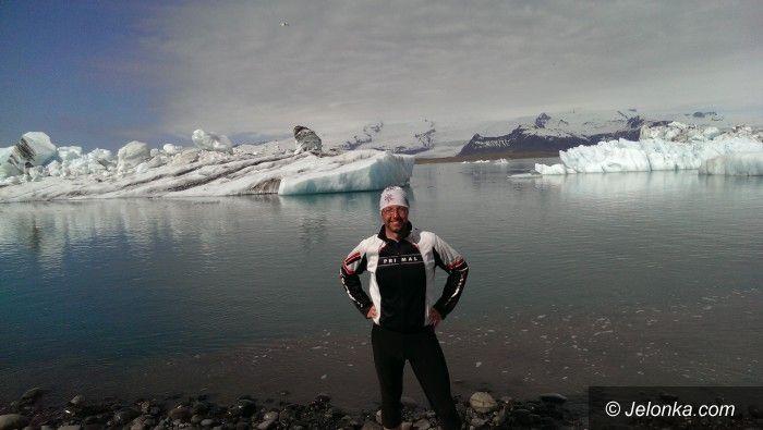 Jelenia Góra: Damian Drobyk objechał rowerem Islandię