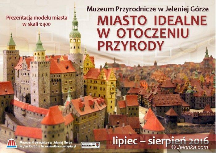 """Jelenia Góra: """"Miasto idealne"""" w Muzeum Przyrodniczym"""
