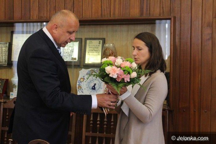 Jelenia Góra: Sylwia Bogacka gościła w Ratuszu