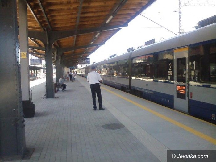 Jelenia Góra: Modernizacja peronów na półmetku