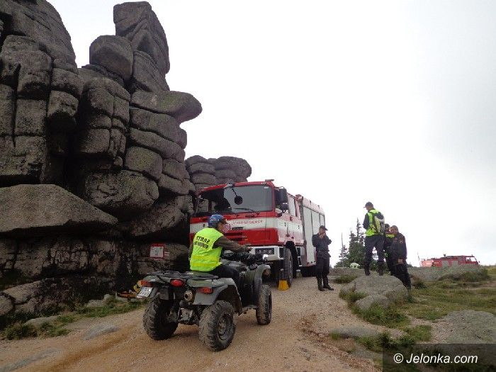Jelenia Góra: Współpraca naszych strażaków z kolegami z Czech
