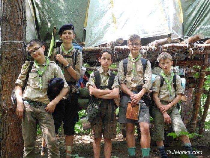 Region: Zawiszacy wrócili z obozu – łatwo tam nie było