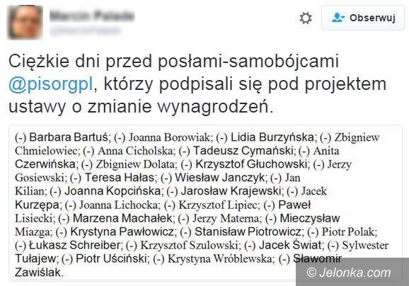Polska: Posłanka Marzena Machałek chciała podwyżek?