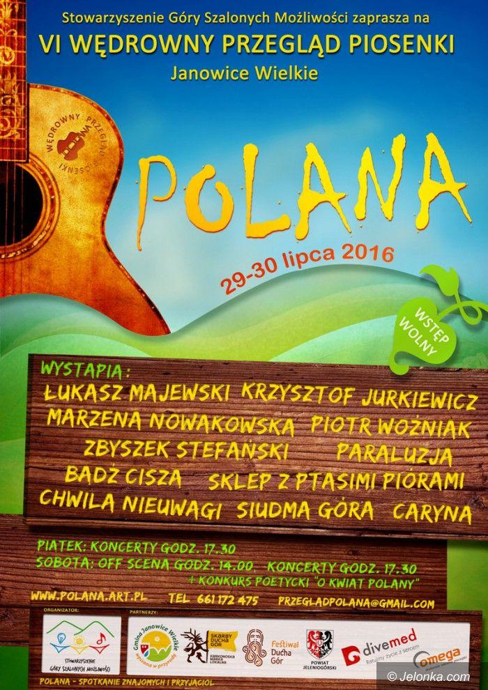 """Region: VI Wędrowny Przegląd Piosenki """"Polana"""""""