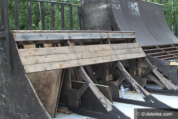 Jelenia Góra: Skate park nadal w remoncie. Kiedy otwarcie?