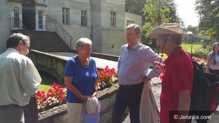 Region: Wizyta baronowej Eleonory von Rotenhan w Bukowcu