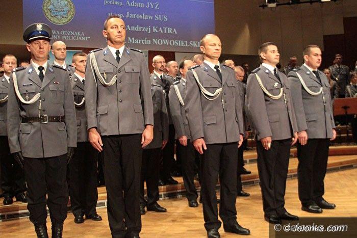 Jelenia Góra: Tak świętowali jeleniogórscy policjanci