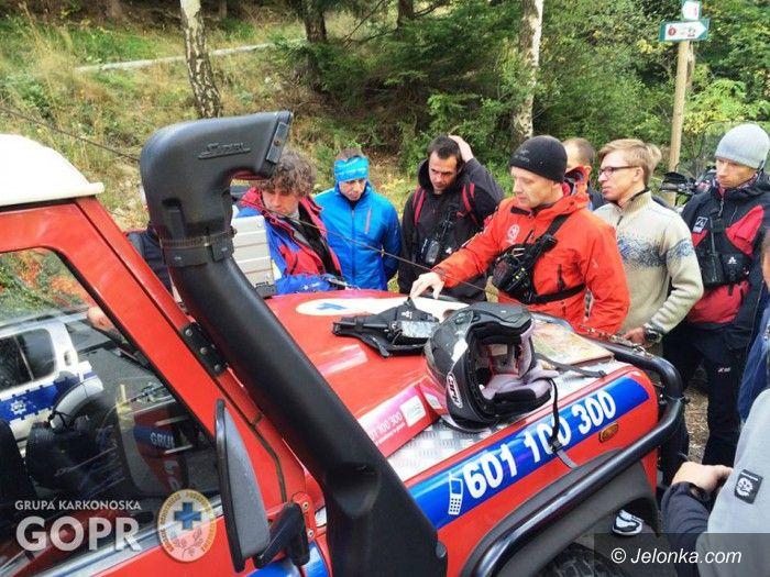 Region: Karkonoska Grupa GOPR podsumowuje lipiec w górach