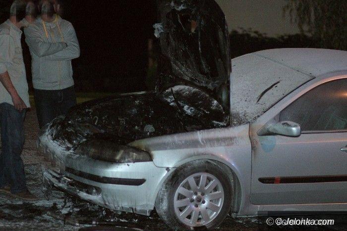 Region: Płonął samochód w Ściegnach
