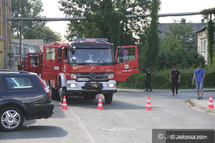 Jelenia Góra: Paliła się była fabryka papieru