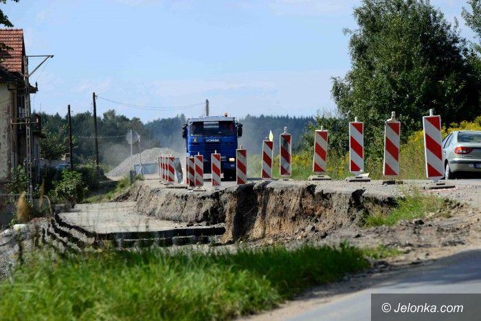 Region: Remont drogi do Wlenia – są objazdy (aktualizacja)