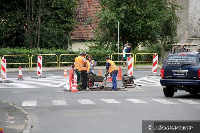 Jelenia Góra: Utrudnienia w ruchu na ulicy Wolności