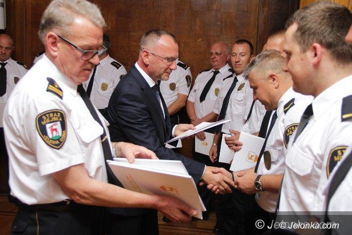 Jelenia Góra: Świętowali miejscy strażnicy