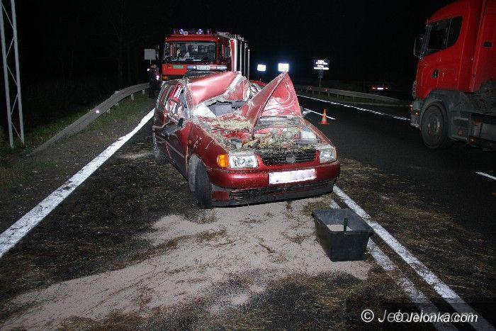 Region: Nieoświetlona przyczepa przyczyną wypadku